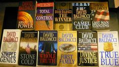 Enjoys the books of David Baldacci. Some are mysteries while others are touching stories of families.