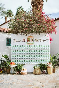 See more of this real Palm Springs wedding and escort card display on Aisle Planner! Wedding Signage, Wedding Menu, Wedding Stationary, Wedding Tables, Wedding Reception, Edible Wedding Favors, Seating Chart Wedding, Seating Charts, Wedding Welcome