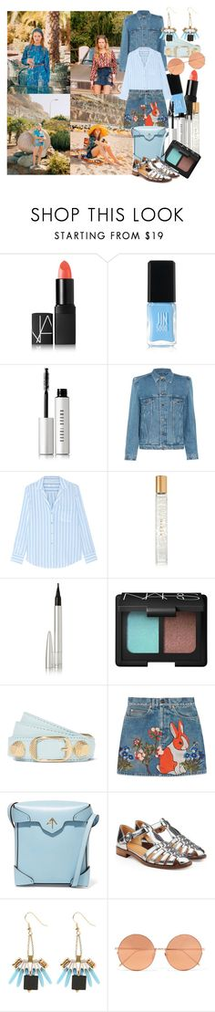 """I look up to the sky and I see, the light and dust that resonates in me"" by brownish ❤ liked on Polyvore featuring NARS Cosmetics, JINsoon, Bobbi Brown Cosmetics, Balenciaga, Equipment, AERIN, Ellis Faas, Gucci, MANU Atelier and Church's"
