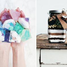 20 bricolages de St-Valentin à faire soi-même Diy Cadeau Noel, Jar, Mugs, Tableware, Christmas, Gifts, Gift Exchange, Homemade Xmas Gifts, Home Made