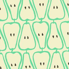 Pear Pattern that is very pretty. Haha! Pretty Pear Pattern. Say that 10 times fast