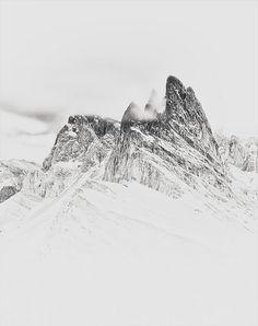 #snow #mountain #white