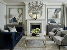 Home Renovation Living Room Traditional style Teal Living Room decor Teal Living Rooms, Formal Living Rooms, Living Room Interior, Home Living Room, Living Room Designs, Living Room Decor, Classic Living Room, Lobby Interior, Interior Office