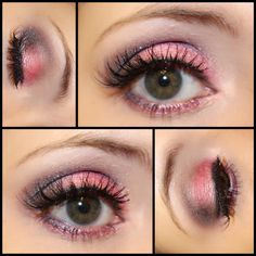 Smokey pink look using Too Faced Chocolate Bon Bon's palette