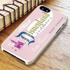 Disney Land Ticket iPhone 6|iPhone 6S Case