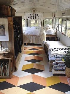 Simply Tiny House Bus Living Conversion Ideas home Bus Living, Tiny House Living, Living Rooms, Rv Interior, Interior Design, Interior Ideas, Interior Livingroom, Contemporary Interior, Interior Inspiration