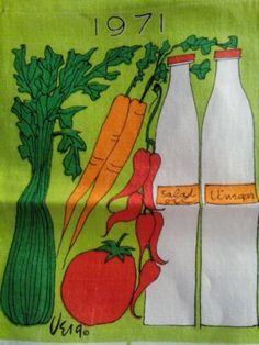 Vintage-Vera-Linen-Tea-Towel-1971-Calendar-Unused