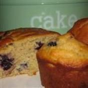 BLUEBERRY OAT & PECAN MUFFINS/LOAF: This versatile recipe can be made as muffins or a bread loaf  #blueberry #oat #pecan #muffins #bread