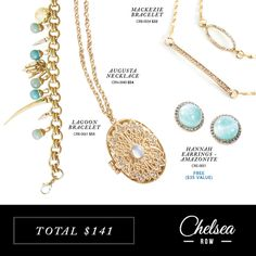 Love this! Found it on Chelsea Row. Mother's Day gift set sale ends 5/3 # mother #jewelry