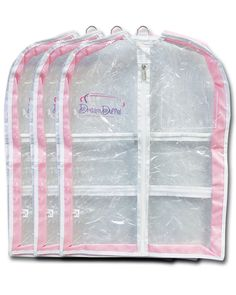 Our Dream Duffel Gusseted Garment Bags store, protect, and transport your costumes with ease. Additional zippered pockets allow you to keep shoes and other accessories organized with the costume. Don't lose track of accessories ever again! Shoe Storage Pockets, Bag Hanger, Hangers, Dance Rooms, Keep Shoes, Garment Bags, Other Accessories, Packing, Pink