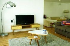 #tvunit #retrolivingroom. F-MONO Tv unitesi ve S-dia sehpa www.tablet-design.com.tr