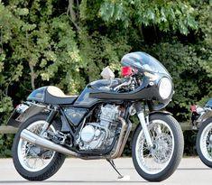 On BikeBound.com: Honda #GB400 TT #caferacer inspired by the Isle of Man TT…