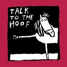 Talk to the Hoof Comic Horse Book #1265C