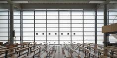 SBG architetti restores baranzate's glass church in italy Contemporary Architecture, Grand Prix, Blinds, Restoration, Glass, Home Decor, Italy, Drinkware, Jalousies