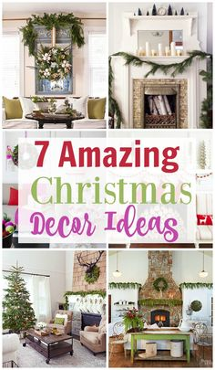 Looking for Christmas decor ideas this holiday season? Check out this great list of 7 amazing Christmas decor ideas. They are sure to get the ideas flowing!