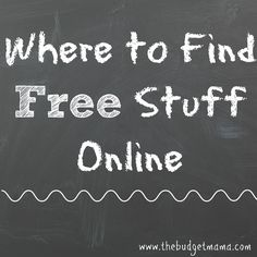 Need to overhaul your expenses? These places are where to find free stuff online so you can slash your expenses and maintain your budget while having fun!