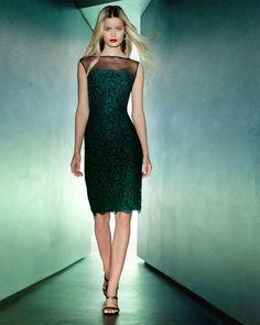 green cocktail dresses for women Elegant Dresses For Women, Sexy Dresses, Formal Dresses, Lace Dresses, I Dress, Strapless Dress, Green Cocktail Dress, Cocktail Dresses, Tadashi Shoji