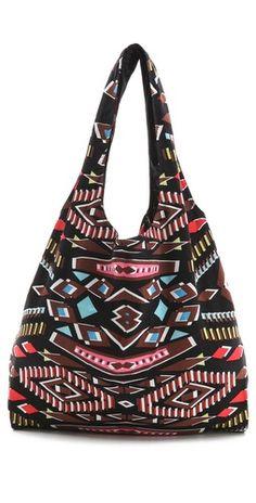 Twelfth St. by Cynthia Vincent Printed Patchwork Shopper Fashion Bags 2b180427870b3