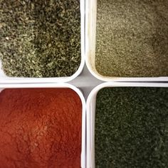 50 shades of Spice! Well 4 actually...Tungs hard at work blending this month's mixes! #50shades