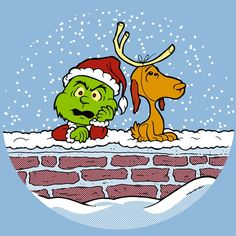 Charlie Brown and Snoopy Grinch!