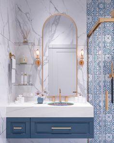 Modern Bathroom Tile Design, Trends 2020 Modern bathroom design trends offer spectacular tiles for decorating walls and floors in 2020 SEE DETAILS. Modern Bathroom Tile, Bathroom Tile Designs, Bathroom Layout, Bathroom Interior Design, Bathroom Ideas, Bathroom Organization, Bathroom Storage, Bathroom Cabinets, Bath Ideas