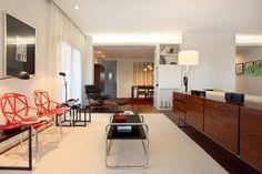 Apartamento Expo_Design Interiores : Salas de estar modernas por Tiago Patricio Rodrigues, Arquitectura e Interiores