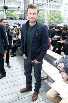 How to dress like David Beckham