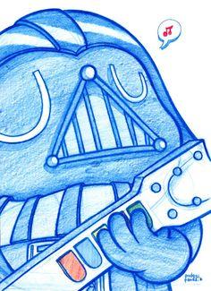 D Vader desde una Galaxia  PodyPanda muy lejana