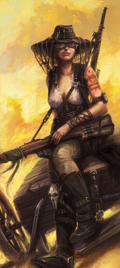 Aftermath - P&P RPG - Explorer, Marco Hasmann on ArtStation at https://www.artstation.com/artwork/Z9EkG