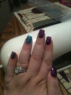 Gel overlay on natural nail