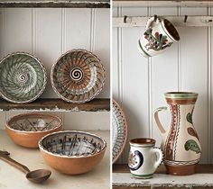 love the mexican pottery