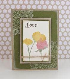 Love by Cards by Rachel @ www.seizethestamp.blogspot.com, via Flickr
