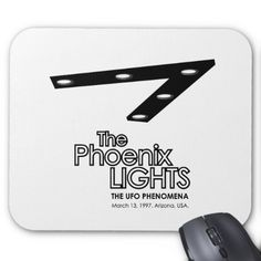Phoenix Lights Mousepad #Mousepad #PhoenixLights #UFO #UFOtriangle #Alien #Extraterrestrial