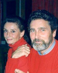 Con Robert Wolders, su última pareja