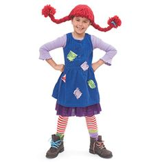Pippi Longstocking is such an iconic literary character. Here's a great tutorial on how to make Pippi Longstocking hair.