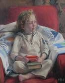 Child's portrait by Michael Alford