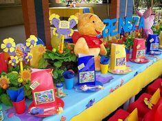 Decoración de Fiestas Infantiles de Winnie the Pooh : Fiestas Infantiles Decoracion