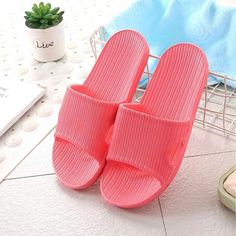 Anti-Slip Home Slippers This Anti-Slip Home Slippers are made of EVA material, which is not only environmentally friendly but also skin-friendly. Anti-slip, quick-drying, breathable and other practical effects provide you higher wearing comfort. Shower Slippers, Shower Shoes, Women's Slippers, Hijabs, Practical Effects, Walking Exercise, Diy Clothes Videos, Things To Buy, Stuff To Buy