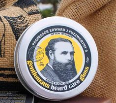 Beard Care Gloss Beard Balm Gift for Dad for by BeautyandtheBees