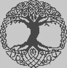 Image result for celtic circle crochet pattern