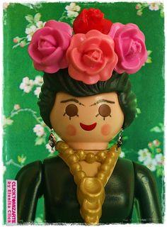 Clicktomizarte by Elenita Click: Frida Kahlo Clicktomizada
