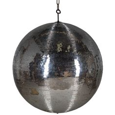 Mirrored Ballroom Ball | From a unique collection of antique and modern curiosities at https://www.1stdibs.com/furniture/more-furniture-collectibles/curiosities/