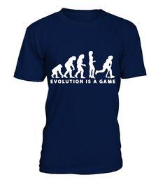 evolution is a game  Hockey T shirt best sport team player gift