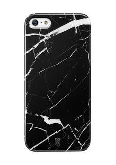 Coque iPhone 5/5S - Marbre Noir