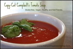 Copy Cat Campbell's Tomato Soup