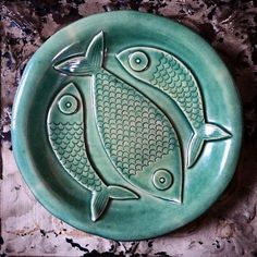 Mr Milly's Ceramic fish plate