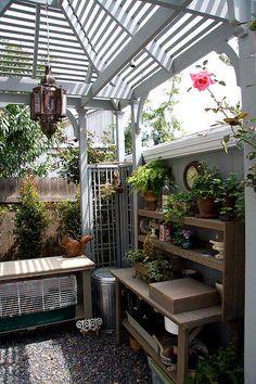 patio shelving