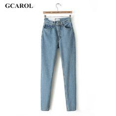 Бренд высокой талией джинсы тонкий свободного покроя старинные карандаш джинсы весна осень высокое качество брюки Большой размер 29 для девочек 2015брюки женскиеджинсылосиныджинсы женскиеджинсы с высокой талией  купить на AliExpress