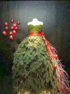 Velmi netradiční vánoční stromky