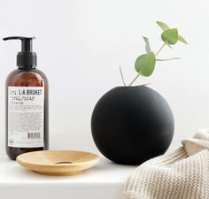 Ball Vase black by C